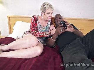 Leader Granny in Creampie Video