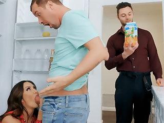 Wife's obese Bristols seduced nanny roughly fuck hardcore