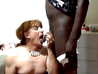 Fabulous xxx video transsexual Blowjob hot , take a look