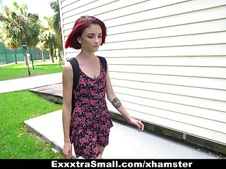 ExxxtraSmall - Kitty Girl Pounded together with Fucked