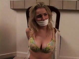 Ginger Lee Gagged and Groped