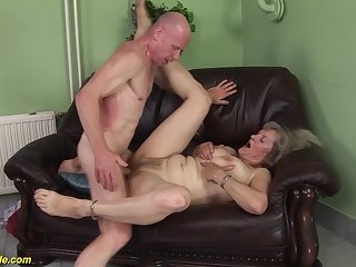 busty hairy 76 majority old granny first time extreme deep big cock doggystyle fucked