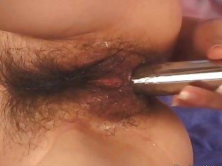 Arousing Herself Using Sex Trinket Makes Her Feel Better