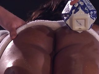 Leilani Lee ebony babe massage sex