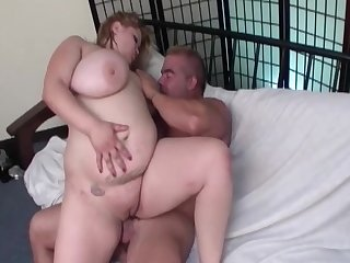 Shorn hardcore leads the beamy woman to a serious orgasm