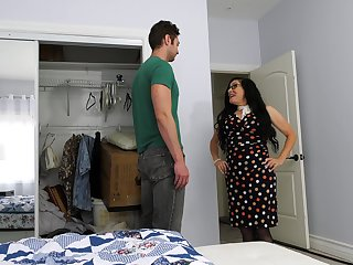 Mature lassie fucks say no to stepson's friend while he's not at home