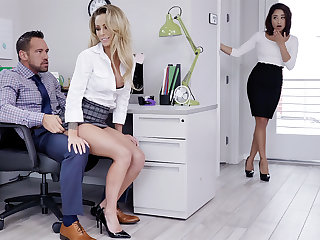 Manager have three-way sexual relations with workers